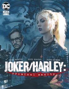 JOKER HARLEY CRIMINAL SANITY #1 (OF 9) MAYHEW VAR ED