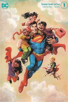SUPERMAN SMASHES THE KLAN #1 (OF 3) VAR ED