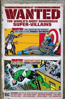 DCS WANTED WORLDS MOST DANGEROUS SUPERVILLAINS HC