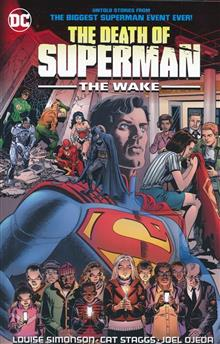 DEATH OF SUPERMAN THE WAKE TP