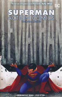 SUPERMAN ACTION COMICS HC VOL 02 LEVIATHAN RISING
