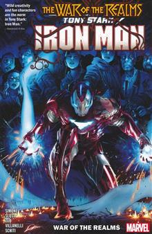 TONY STARK IRON MAN TP VOL 03 WAR OF REALMS