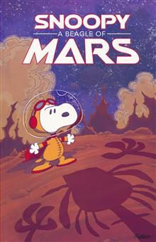 SNOOPY BEAGLE OF MARS ORIGINAL GN PEANUTS