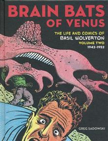 BRAIN BATS OF VENUS BASIL WOLVERTON HC VOL 02