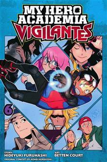 MY HERO ACADEMIA VIGILANTES GN VOL 06