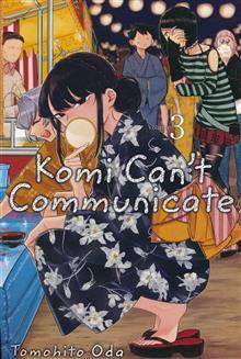 KOMI CANT COMMUNICATE GN VOL 03