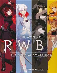 WORLD OF RWBY OFFICIAL COMPANION HC