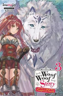 WOOF WOOF STORY LIGHT NOVEL SC VOL 03