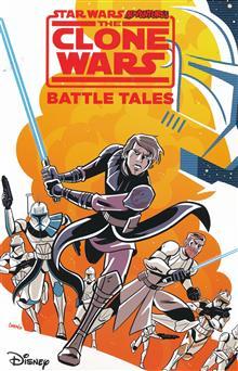STAR WARS ADV CLONE WARS BATTLE TALES GN
