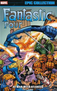 FANTASTIC FOUR EPIC COLLECTION TP AT WAR WITH ATLANTIS