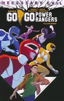 GO GO POWER RANGERS TP VOL 08