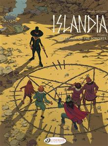 ISLANDIA GN VOL 03 LEGACY OF THE SORCERER