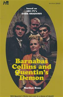 DARK SHADOWS PAPERBACK LIBRARY NOVEL VOL 14 QUENTINS DEMON