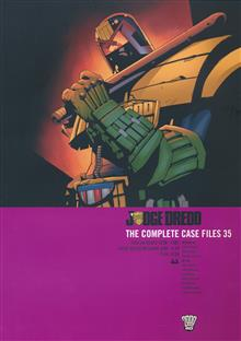 JUDGE DREDD COMPLETE CASE FILES TP VOL 35 (RES)