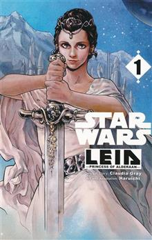STAR WARS LEIA PRINCESS OF ALDERAAN GN MANGA VOL 01