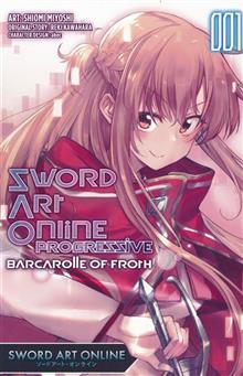 SWORD ART ONLINE PROGRESSIVE TRANSIENT BARCAROLLE GN VOL 01