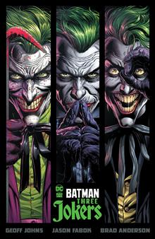 BATMAN THREE JOKERS HC (MR)
