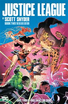 JUSTICE LEAGUE BY SCOTT SNYDER BOOK TWO DELUXE EDITION HC