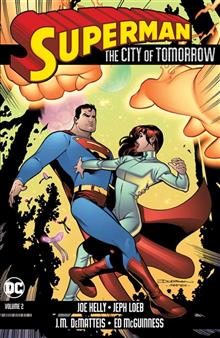 SUPERMAN THE CITY OF TOMORROW VOL 2 TP