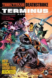 TEEN TITANS DEATHSTROKE THE TERMINUS AGENDA TP