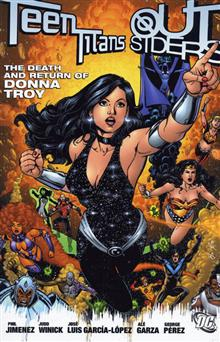 TEEN TITANS/OUTSIDERS DEATH AND RETURN OF DONNA TROY TP