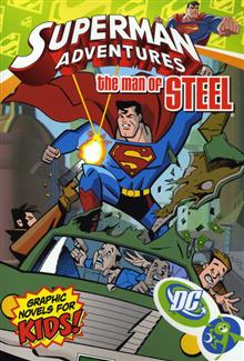 SUPERMAN ADVENTURES VOL 4 THE MAN OF STEEL