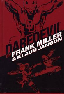 DAREDEVIL BY FRANK MILLER & KLAUS JANSON OMNIBUS HC VAR ED
