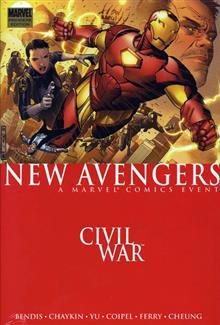 NEW AVENGERS VOL 5 CIVIL WAR PREM HC