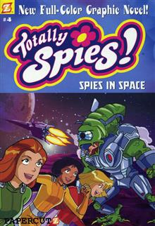 TOTALLY SPIES VOL 4 SPIES IN SPACE GN