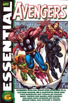 ESSENTIAL AVENGERS TP VOL 06