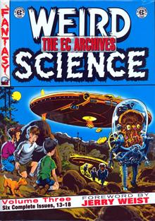 EC ARCHIVES WEIRD SCIENCE VOL 3 HC