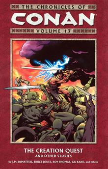 CHRONICLES OF CONAN VOL 17 CREATION QUEST TP