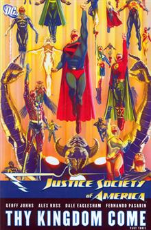 JUSTICE SOCIETY OF AMERICA VOL 4 THY KINGDOM COME PART 3 HC