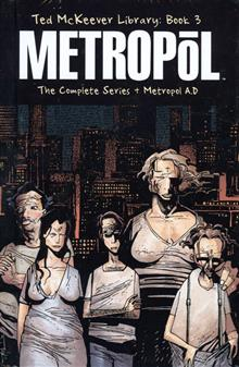TED MCKEEVER LIBRARY VOL 3 METROPOL HC