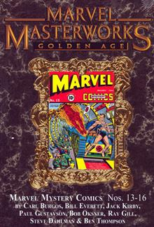MMW GOLDEN AGE MARVEL COMICS VOL 4 HC VAR ED 116
