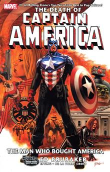 CAPTAIN AMERICA VOL 3 DEATH OF CAPTAIN AMERICA TP
