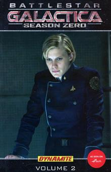 NEW BATTLESTAR GALACTICA SEASON ZERO VOL 2 TP PHOTO COVER