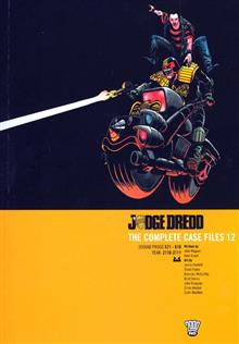 JUDGE DREDD COMPLETE CASE FILES VOL 12 TP