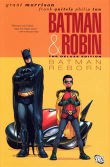 BATMAN AND ROBIN DELUXE HC VOL 01 BATMAN REBORN