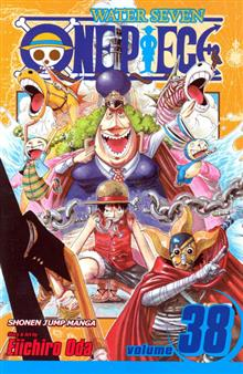 ONE PIECE GN VOL 38