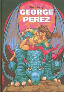GEORGE PEREZ ART OF HC