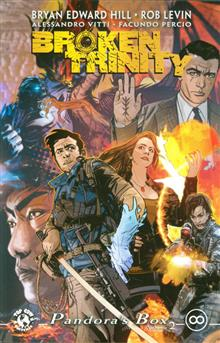BROKEN TRINITY TP VOL 02 PANDORAS BOX