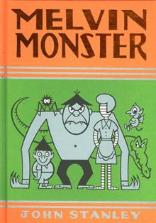 JOHN STANLEY MELVIN MONSTER HC VOL 03