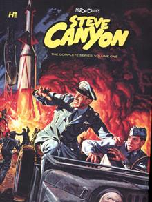 STEVE CANYON COMP COMIC BOOK SERIES HC VOL 01