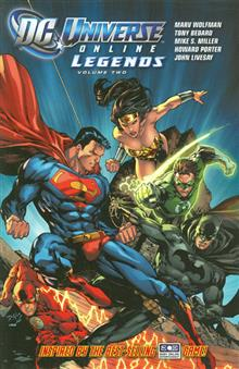 DC UNIVERSE ONLINE LEGENDS TP VOL 02