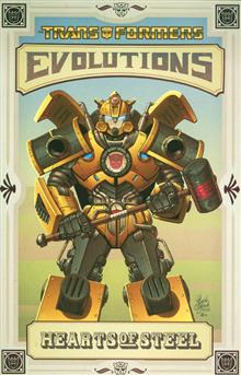 TRANSFORMERS EVOLUTIONS HEARTS OF STEEL TP