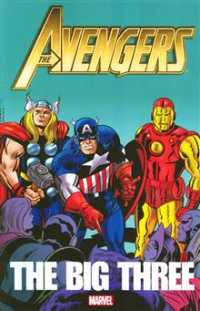 AVENGERS BIG THREE TP