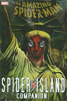 SPIDER-MAN SPIDER-ISLAND COMPANION HC