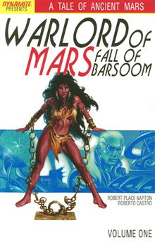 WARLORD OF MARS FALL OF BARSOOM TP VOL 01