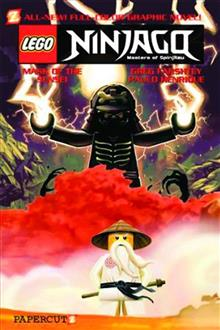NINJAGO GN VOL 02 MASK OF THE SENSEI